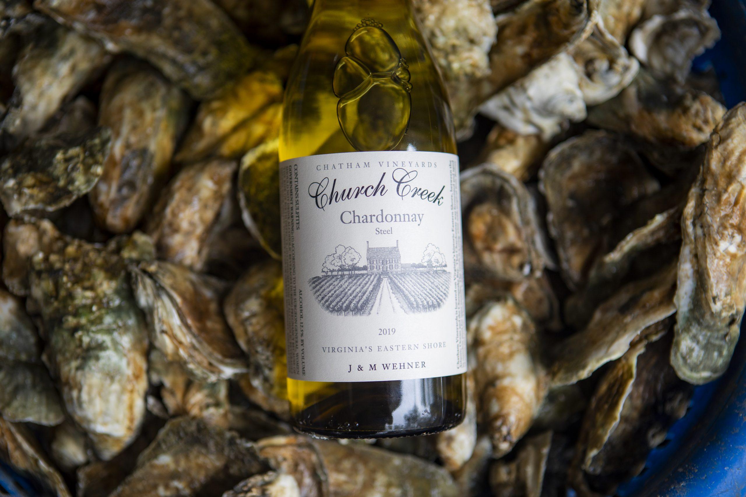 Church Creek Chardonnay and Oysters